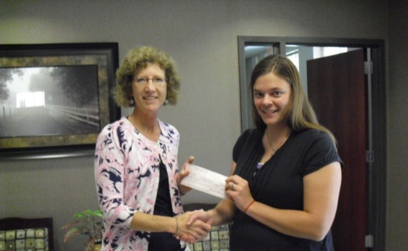 Check Presentation to Coins for a Cause