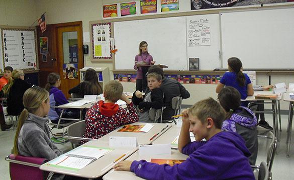 Teaching 6th Grade Junior Achievement